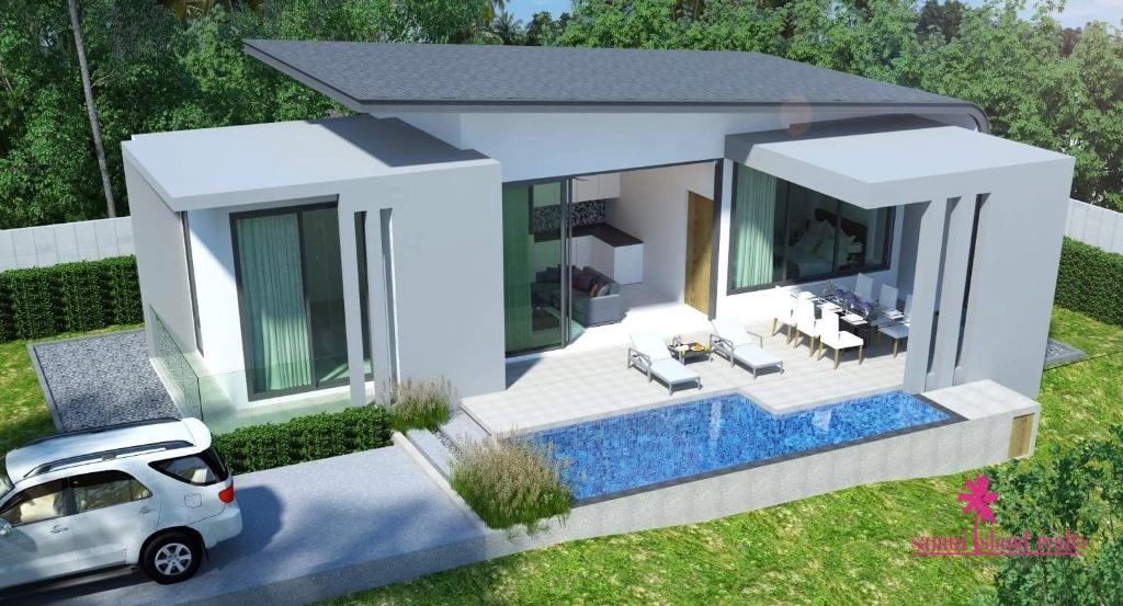 2 bed new development in Koh Samui