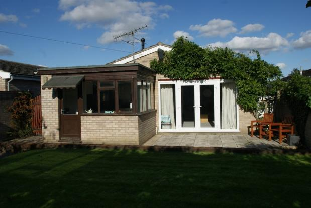 Rear of bungalow