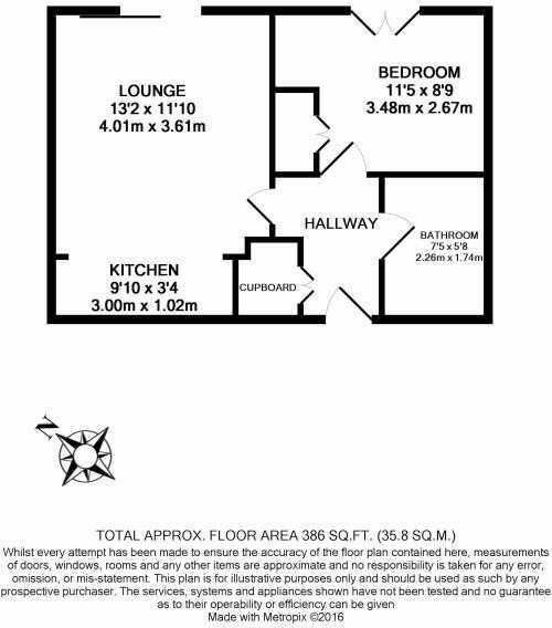 14 Bridge Point House - Floorplan
