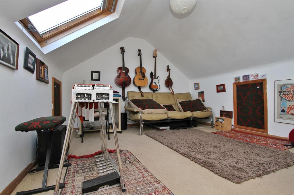 Boarded attic