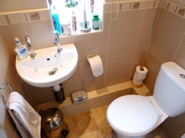 Refitted Seperate WC