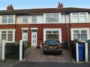 Terraced house in Ribble Road, FLEETWOOD...