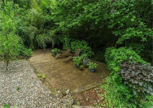Lower Decking Area