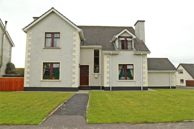 bedroom detached house for sale in rose park limavady county