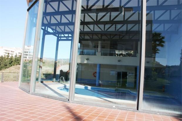 In door heated pool