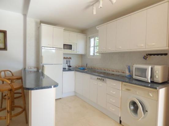 separate apartment´s kitchen