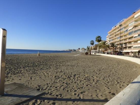 Beach opposite penthouse