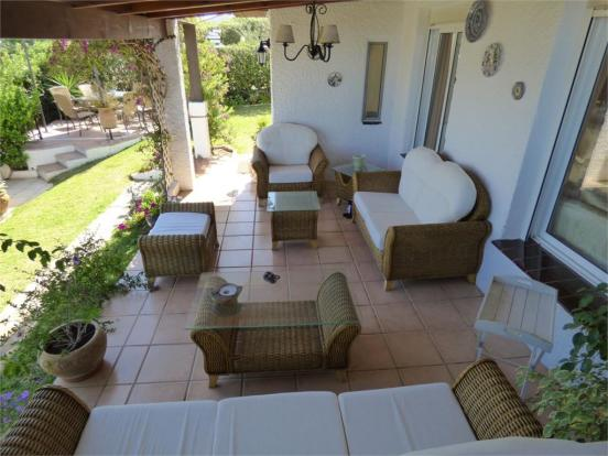 Covered terrace off lounge