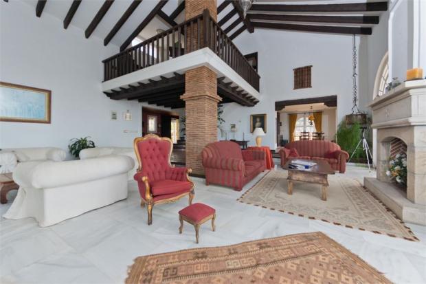 Living Area + Fireplace