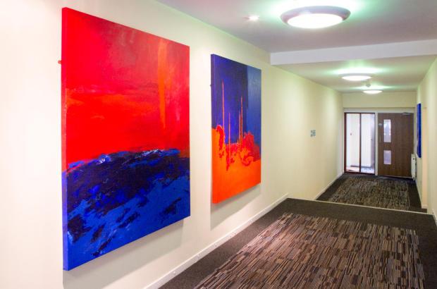Roomy Hallways