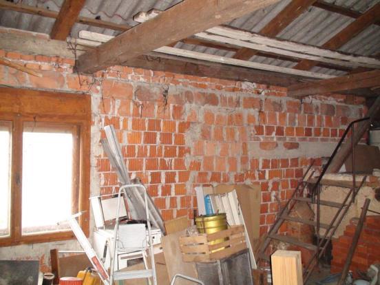 Unfinished attick