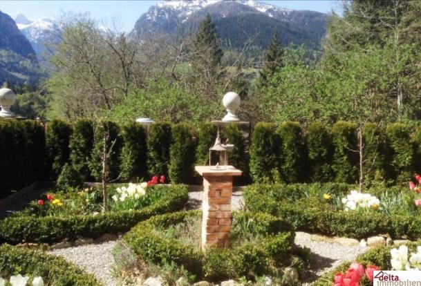 Beautiful mature gardens