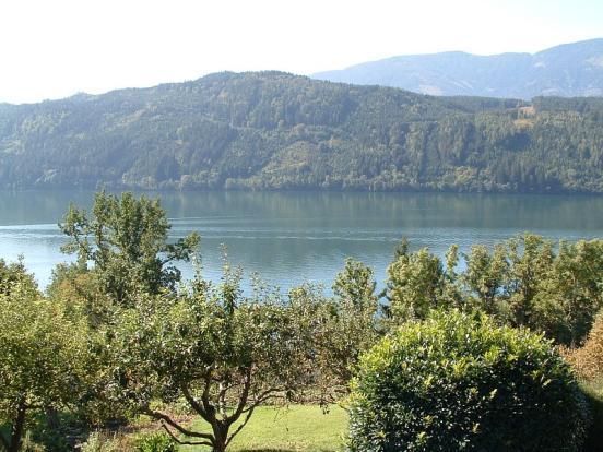 View of Lake Millstatt from car park