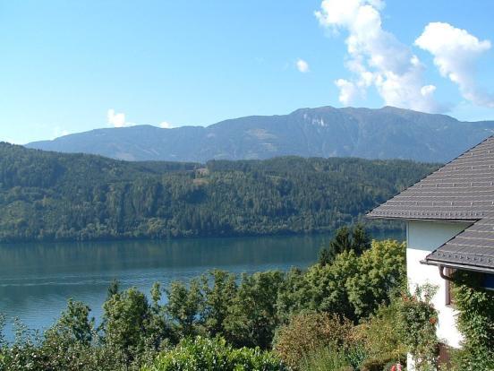 View over Lake Millstatt & Goldeck