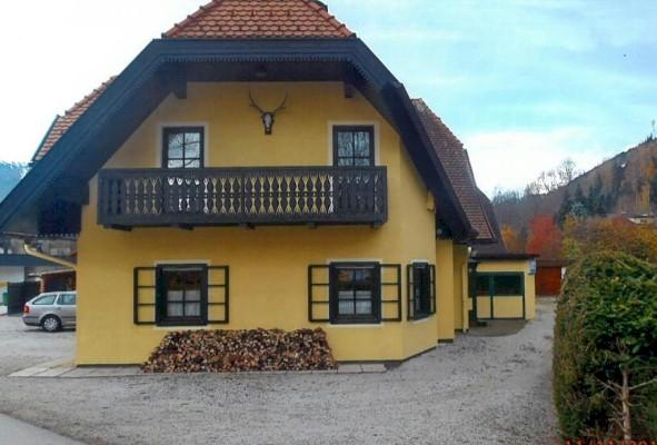 Exterior of house in Schladming