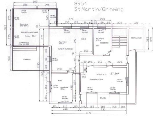 !st floorplan