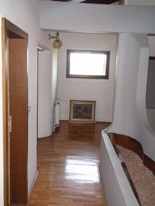 Nice attic corridor
