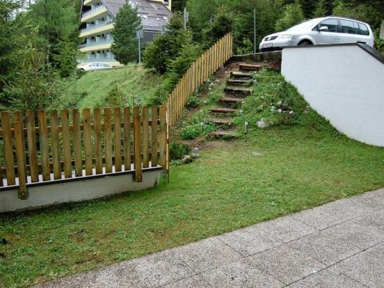 Terrace and Garden area