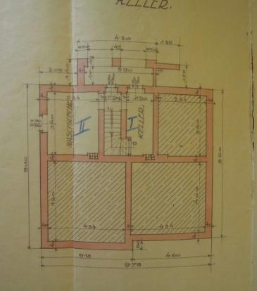 Floorplan of cellar