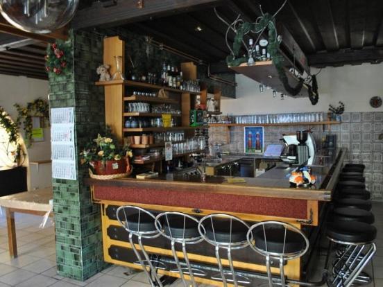 Berghof bar area