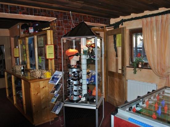 Berghof games room
