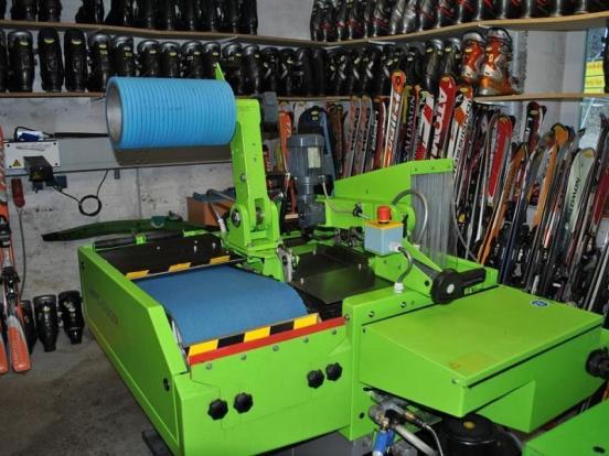 Berghof ski maintenance centre