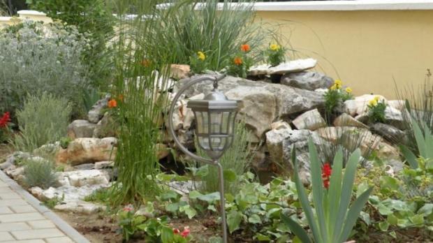 Well tended gardens