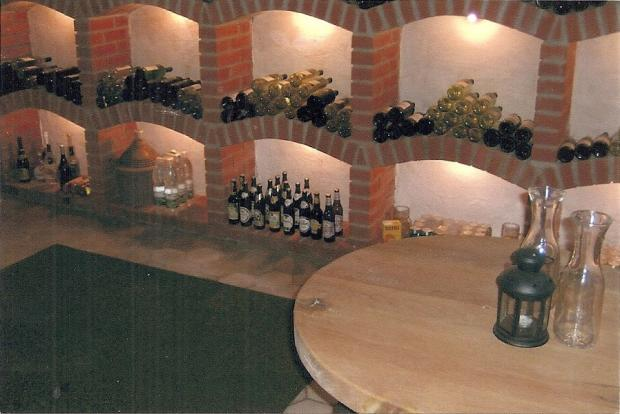 Most important - the wine cellar