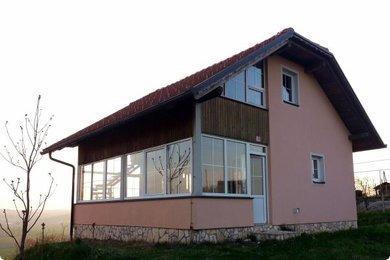 Glazed conservatory