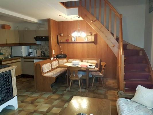 Dining area and stairs