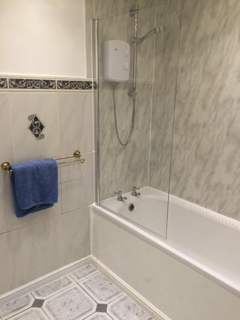 including stand up shower