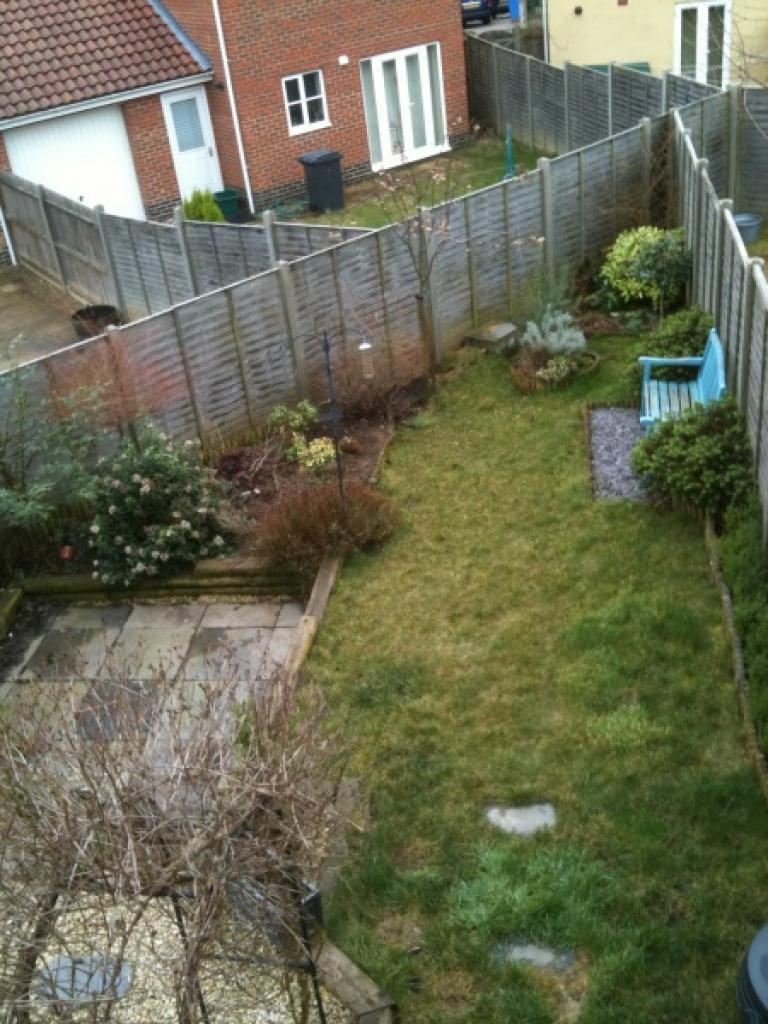 Landscaped garden to rear