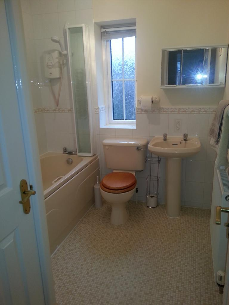 Bathroom with airing cupboard