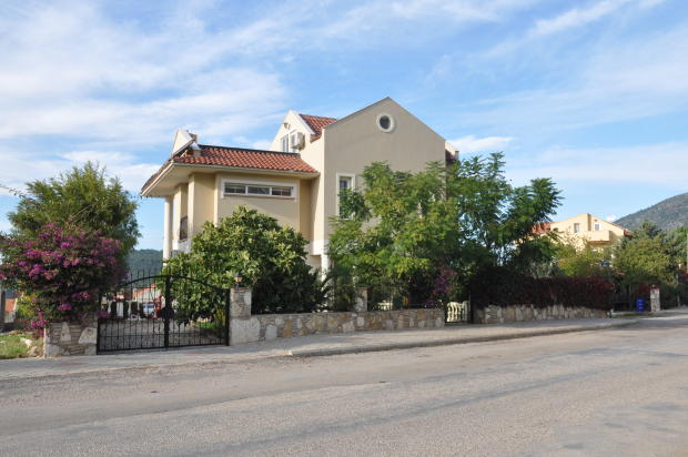 Villa view from road
