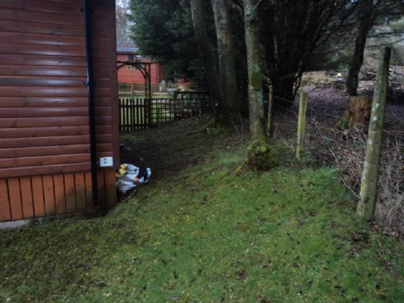 2 bedroom log cabin for sale in yewtree place mouswald for 2 bed log cabins for sale