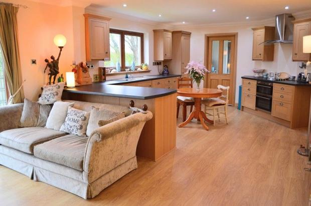 Open Plan Kitchen,Dining and Family Room