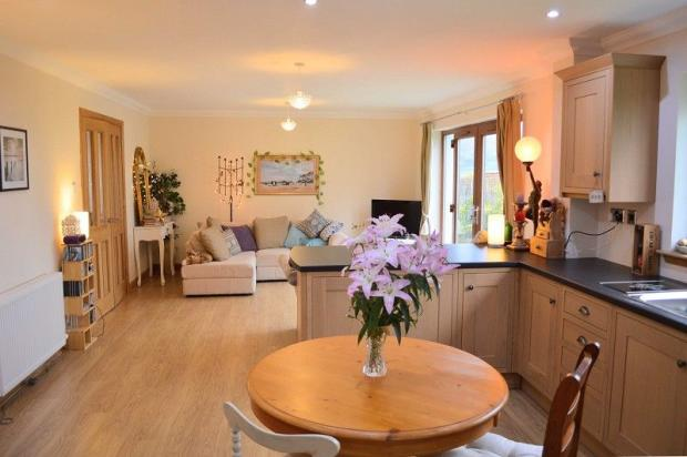 Open Plan Kitchen, Dining Area and Family Room