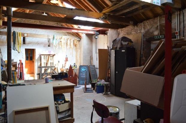 Barn Conversion Art Studio
