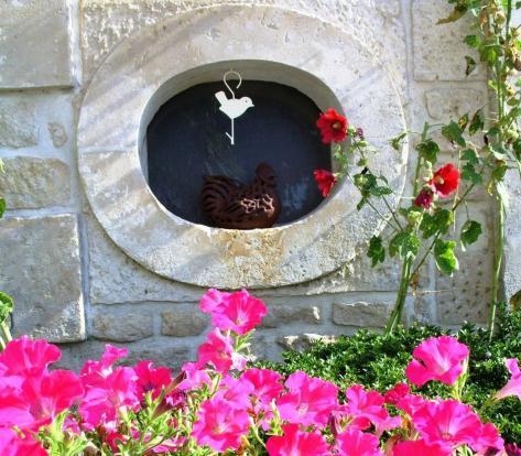 Limestone window