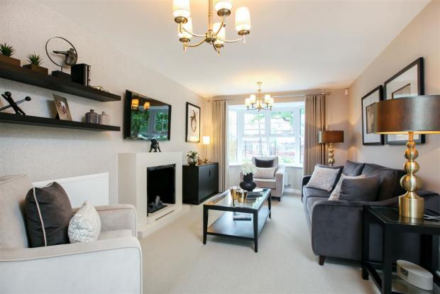 Actual Image of The Downham showhome at Stamford Gate