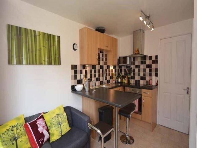 Kitchen/seating area