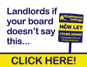Get brand editions for Stephenson Residential Lettings, Hull