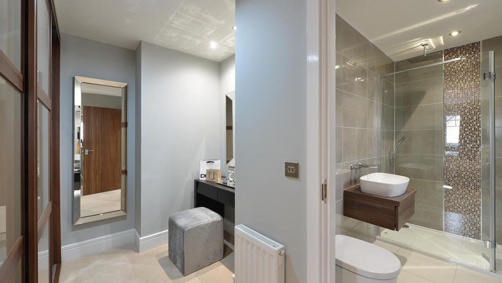 Typical Hexham Dressing Area & En Suite