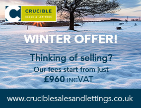 Get brand editions for Crucible Sales & Lettings, Hillsborough