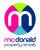 McDonald Property Rentals, Blackpool logo