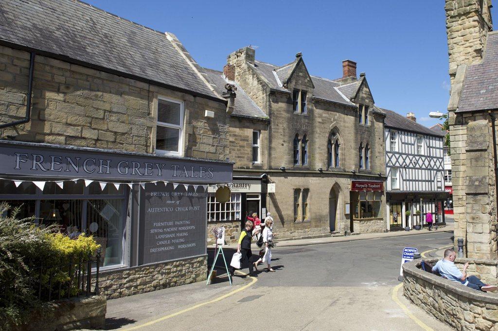 Morpeth town centre