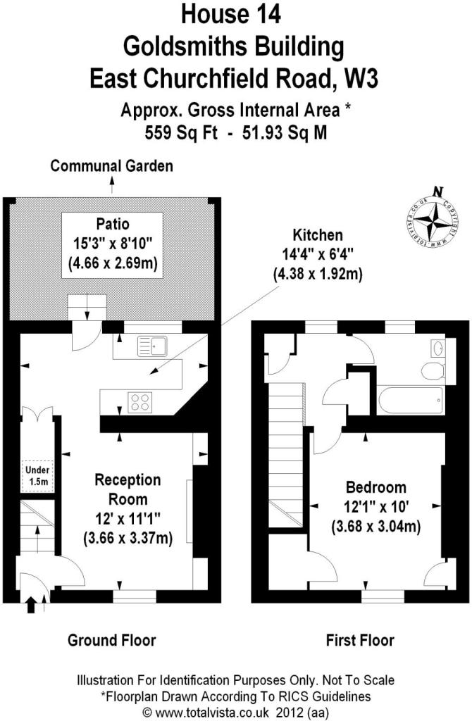 House 14 Floorplan
