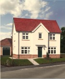 4 bed new property for sale in Ty Newydd, Mold Road...