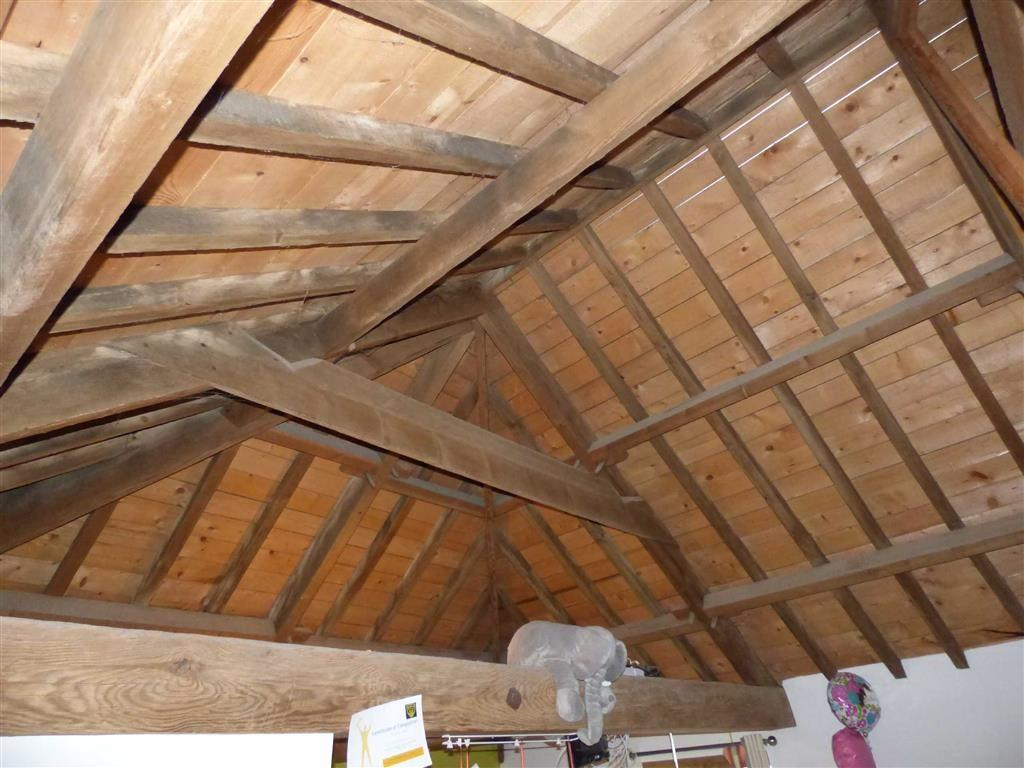 Open roof trusses