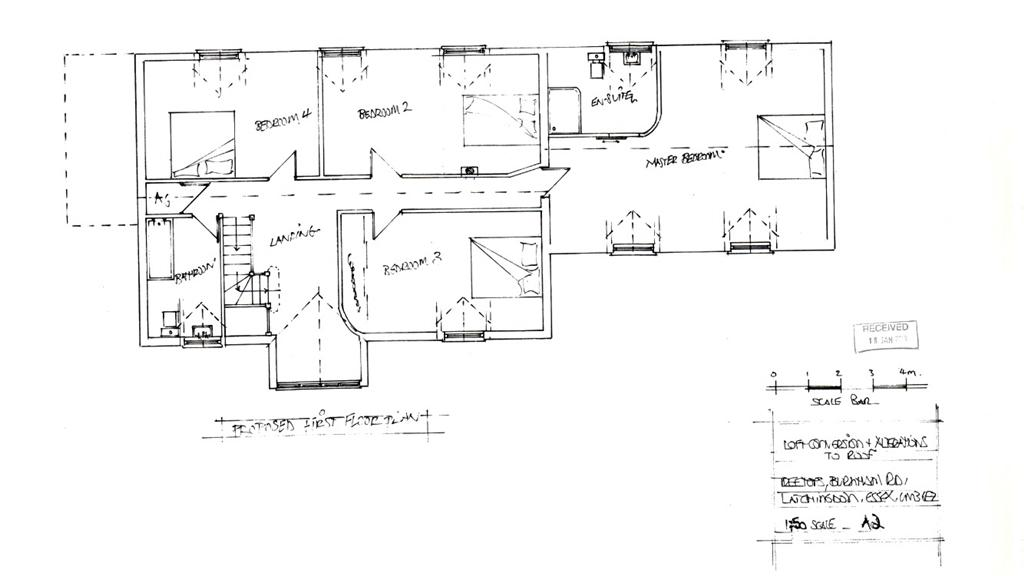 Treetops Planning Permission FF Layout drawings
